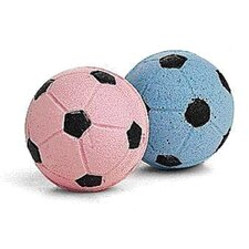 <strong>Ethical Pet</strong> Sponge Soccer Balls Cat Toy (4 Pack)