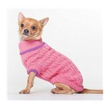 <strong>Ethical Pet</strong> Classic Cable Dog Sweater
