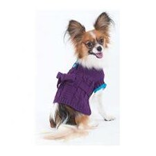Sorority Dog Girl Dress in Purple