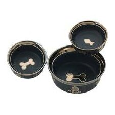 Ritz Copper Rim Cat Dish