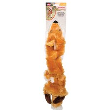 Bungee Skinneeez Fox Dog Toy