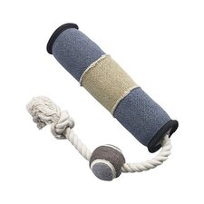 Dura-Fused Canvas Tug With Ball Dog Toy