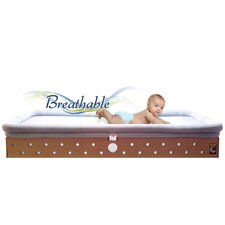 Circle Crib Mattress Base with Sleep Surface