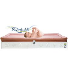 <strong>Secure Beginnings</strong> Flower Crib Mattress Base with Sleep Surface