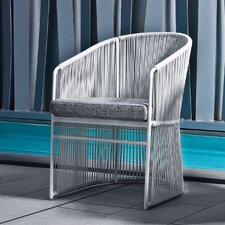 Tibidabo Tub Chair with Cushion by Calvi and Brambilla