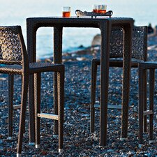 Altea Square Aluminium Bar Table