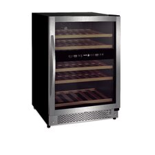 44 Bottle Dual Zone Built-In Wine Refrigerator