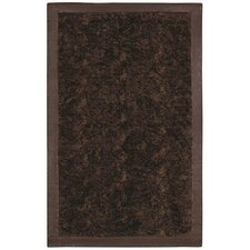 Animal Hide Brown/Black Fur Rug