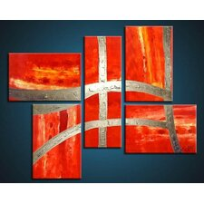 Victory 5 Piece Original Painting on Canvas Set