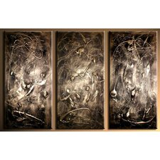 Richness 3 Piece Original Painting on Canvas Set