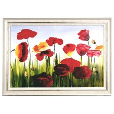 Tulips Framed Original Painting