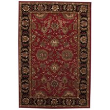 Aaryan Red/Black Rug
