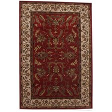<strong>Acura Rugs</strong> Aaryan Red/Cream Rug