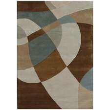 Ashley Swirl Multi Rug
