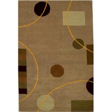 <strong>Acura Rugs</strong> Contempo Beige/Brown Rug