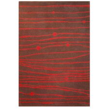 <strong>Acura Rugs</strong> Contempo Brown/Red Rug