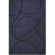 Contempo Dark Blue/Black Rug