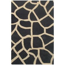 Contempo Black/Beige Rug