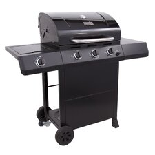 Classic 3 Burner Gas Grill with Side Burner