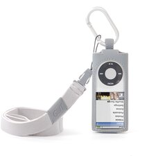 iPod Nano 4G Hang It Case in Gray
