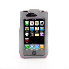iPhone Sport Sleeve Case with Clip in Pink