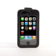 iPhone Classic Leather Sleeve in Black