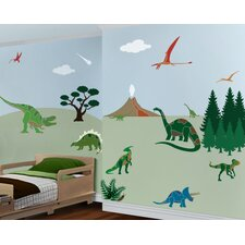 Dinosaur Days Wall Stencil Kit