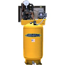 80 Gallon 5 HP 1PH Vertical Stationary Air Compressor