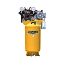 80 Gallon 7.5 HP Vertical 2 Stage Stationary Air Compressor