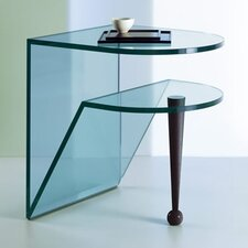 Birillo Glass Side Table