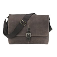 Leon Single Buckle Messenger Bag