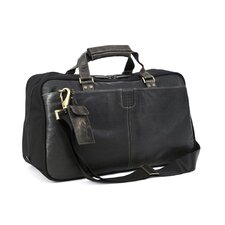 "<strong>Boconi</strong> Hendrix 19"" Leather Travel Duffel"