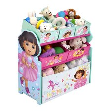 Nickelodeon Dora the Explorer - Multi-Bin Toy Organizer