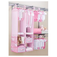 24 Piece Nursery Closet Organizer Set