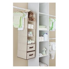 Children 6 Shelf Storage with 2 Drawers