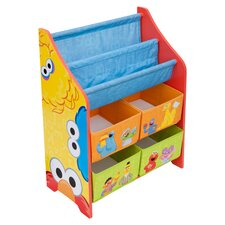 <strong>Delta Children</strong> Sesame Street Book and Toy Organizer