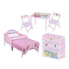 Disney Princess Convertible Toddler Bedroom Collection