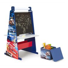 <strong>Delta Children</strong> Disney Pixar Cars Easel Desk with Ottoman