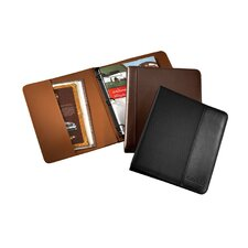 "1"" Leather 3 Ring Binder"