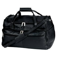 "19.5"" Vaqueta Napa Leather Deluxe Duffel"