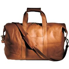 "16.75"" Vaqueta Napa Leather Quick Getaway Carry-On Duffel"