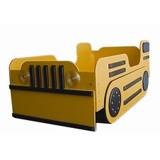 <strong>Just Kids Stuff</strong> Bulldozer Toddler Bed