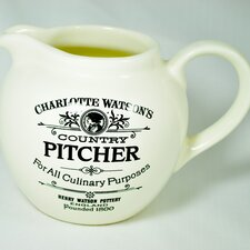 <strong>Henry Watson</strong> Charlotte Watson One Pint Jug in Cream