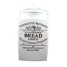 Charlotte Watson 120 Oz Bread Crock
