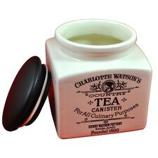 Charlotte Watson 32 Oz Tea Canister