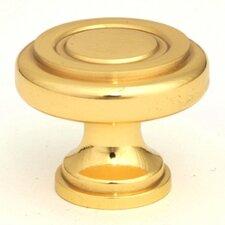 "Ringed 1.25"" Cabinet Round Knob"