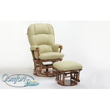 <strong>Dutailier</strong> 933 Furniture Comfort Plus Bow Back Glider