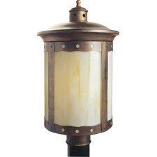 "Outdoor 1 Light 10.5"" Post Lantern"