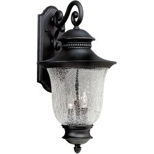 <strong>Forte Lighting</strong> 3 Light Outdoor Lantern