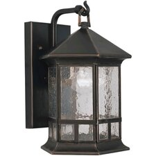 <strong>Forte Lighting</strong> 1 Light Outdoor Wall Lantern